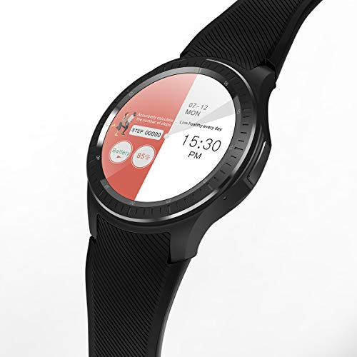 e10198f9d LENCISE 4G Android Smartwatch Phone Android 6.0 1.54Inch IPS Screen Quad  Core 16G RAM GPS