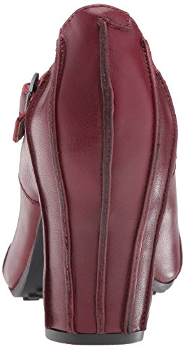 Fly London Acer138fly, Scarpe Col Tacco con Cinturino a T Donna Rosso (Cordoba Red)