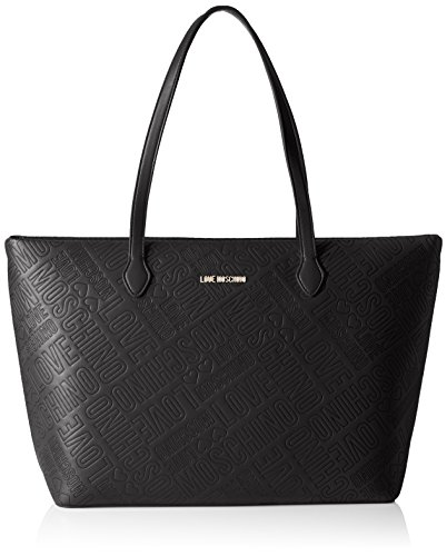 Love Moschino JC4029, Tote Donna, Nero (Black), 13x28x49 cm (B x H x T)