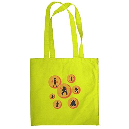 Texlab–The Balls–sacchetto di stoffa Gelb