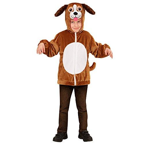 Preisvergleich Produktbild PARTY DISCOUNT Neu Kinder-Kostüm Plüschjacke Hund,  Gr. 104-116