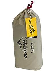 "Outent® Sonnensegel ""Tarp"", Regendach, Zeltplane wasserdicht – Wassersäule 3000 mm - sand UV 30+"