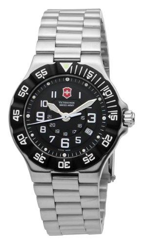 Victorinox 241348 – Reloj de pulsera mujer, acero inoxidable, color plateado