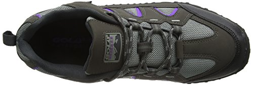 Gola Elias, Scarpe da Arrampicata Donna Grigio (Grey/purple/black)