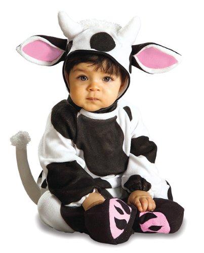 Rubie's 2 81222 I - Cozy Cow Kostüm, Größe 6-12 Monate (Kuh Kostüme Für Kleinkind)