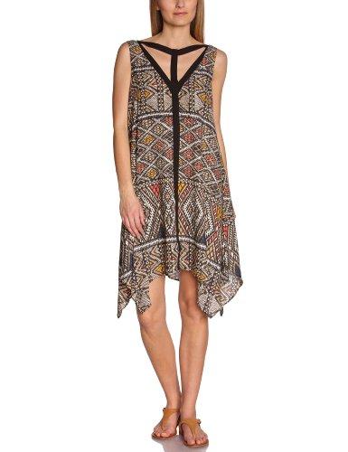 BCBGMAXAZRIA Damen Kleid NLK6V922 Mehrfarbig (Cralrefcom)