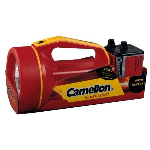 Preisvergleich Produktbild Camelion Homebright Kunststoff Handscheinwerfer CM25B1 in rot 30000011