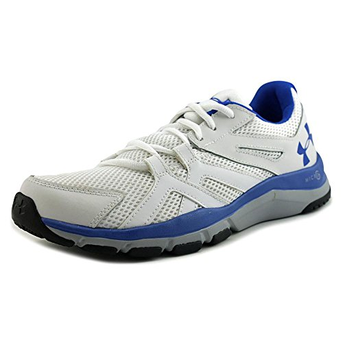 Under Armour Mens Strive 6 White/overcast Gray/ultra Blue