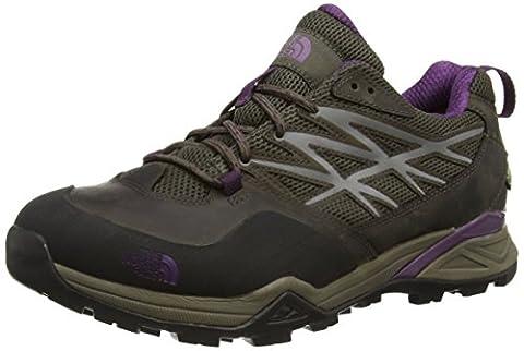 The North Face Hedgehog Hike Gore-Tex Damen Trekking- & Wanderhalbschuhe, Mehrfarbig (Weimaraner Brown/Black Currant Purple Aux), 39 EU