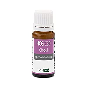 HCG Globuli für Stoffwechselkur (HCG Diät) – Potenz C30 – höchste Apothekenqualität – hergestellt in Deutschland – für jegliche Diät einsetzbar (Low Carb, etc.)