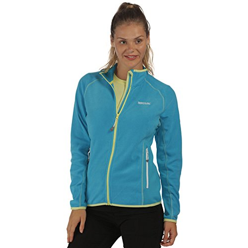 Regatta Womens/Ladies Jomor Full Zip Lightweight Stretch Fleece Jacket (Zip Brust-tasche Full Sweatshirt)