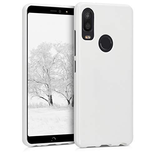 kwmobile bq Aquaris X2 / X2 Pro Hülle - Handyhülle für bq Aquaris X2 / X2 Pro - Handy Case in Weiß matt