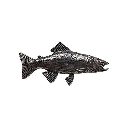 Zinn ~ Premium-Cutthroat-Forelle ~ Anstecknadel/Brosche ~ f014pr (Cutthroat-forelle)