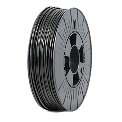 ICE FILAMENTS ICEFIL3PLA004 PLA Filament, 2.85 mm, 0.75 kg, Brave Black