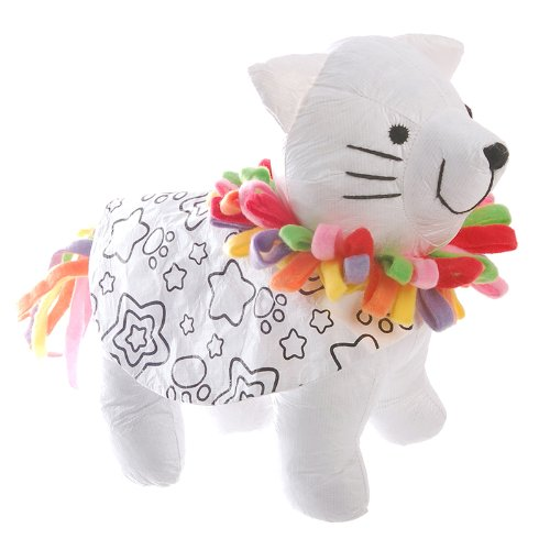Alex Toys Alex Toys Color and Cuddle Kitty