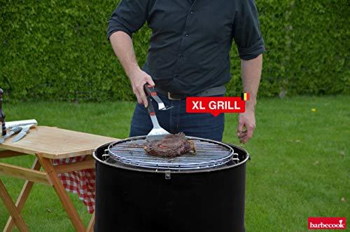 barbecook Holzkohlegrill, Edson, schwarz, 60 x 60 x 89 cm, 2236010000