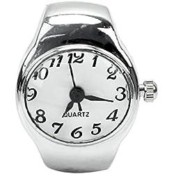 Women Pocket Quartz Finger Ring Watches