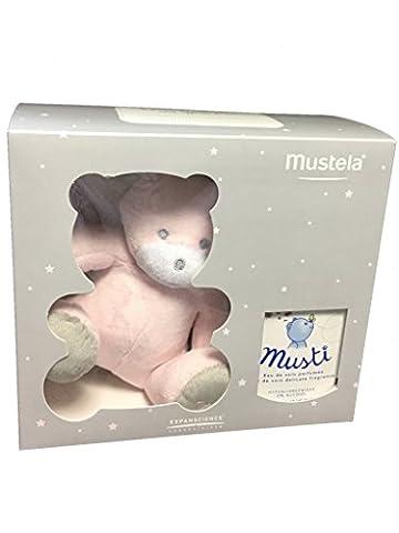 Mustela Musti House Box Care Water 50ml Eau de Soin + Teddy Bear - Model : Girl