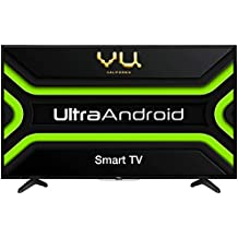 Vu 100 cm (40 inches) Full HD UltraAndroid LED TV 40GA (Black) (2019 Model)