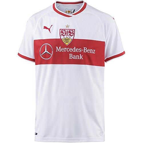 99cd53fe46851 PUMA Herren VfB Stuttgart Home Replica Shirt w.Sponsor Trikot