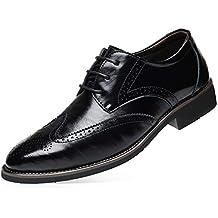 inglesine uomo Nero scarpe Amazon it HwExnBYqPC