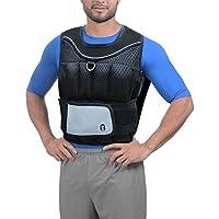 Chaleco lastrado para entrenamiento de pérdida de peso gimnasio Running  Ajustable chaqueta Exercise- 10 kg 71863832d58