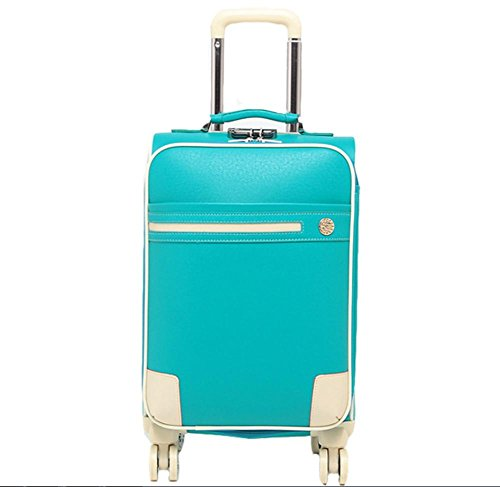 Custodia da viaggio Pu moda bagagli password blue