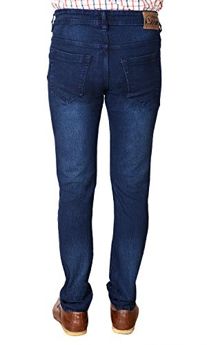 FlyJohn-Mens-Blue-Slim-Fit-Denims-Jeans