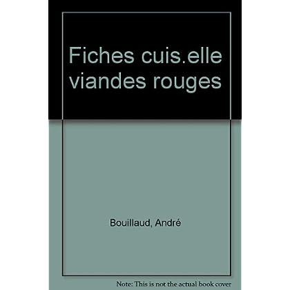 FICHES-CUISINE DE ELLE. Viandes rouges