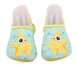 Abclothing Little Kids & Toddler Water Shoes Starfish For Boys & Girls & Toddler Little Kids 28-29 Eu10-11uk