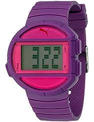 Puma Time Unisex-Armbanduhr Half Time- S Digital Quarz Plastik PU910892005