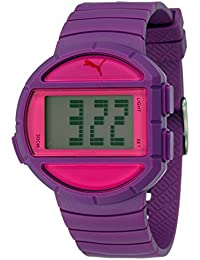 Puma Time Unisex-Armbanduhr Half Time- S Digital Quarz Plastik PU910892005