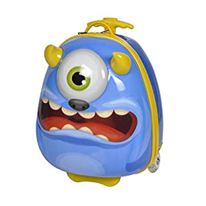 Knorrtoys 14511 - Bouncie Trolley Monster Blueberry
