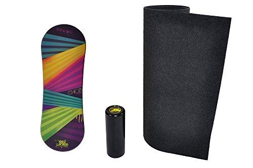 Trickboard Balance Board SET - Chicka + Roller + Teppich- Balance training