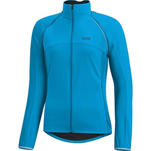GORE WEAR C3 Damen Zip-Off Jacke GORE WINDSTOPPER, 42, Blau