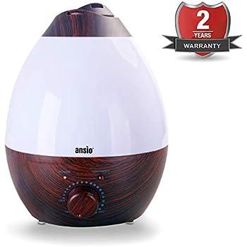 Victsing Cool Mist Humidifier 3l Ultrasonic Humidifier