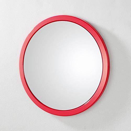 HAKU Möbel 42489 Wandspiegel 2 x 38 cm, rot
