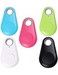 Bluetooth anti–Lost Tracker, llave Finder Tracer GPS Locator para cartera, Auto, niño, mascotas, bolsillos o Suitcase (Color aleatorio)