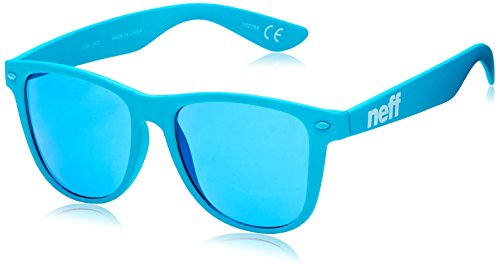 Neff Sonnenbrille Daily Sun Blue Soft Touch, One Size