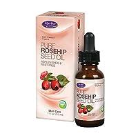 Life-Flo Organic Pure Rosehip Seed Oil, 1 Ounce