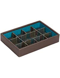 Men's Brown Sectioned Mini Stacker