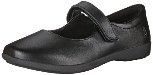 Hush Puppies Lexi Uniform Mary Jane (Toddler/Little Kid/Big Kid), Black, 10.5 W US Little Kid (Hush Puppies Uniform Schuhe)