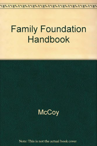 Family Foundation Handbook, 2002