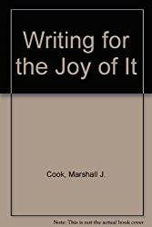 Writing for the Joy of It