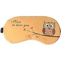 msyou Eye Mask Cute Cartoon Eule Schlaf Maske verstellbar Schlafmaske Augen Cover für Hause Büro Reisen (Rosa) preisvergleich bei billige-tabletten.eu
