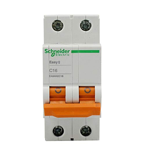 HNCIU Luftschalter Brecherluft Schalter E9 Serie A9 2P Bipolar Offenen Haushalt Total Gate 2 P 16A Air Switch Leitungsschutzschalter, 40A -