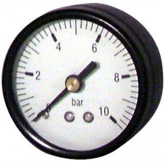 Expert by net - Manomètre rond Eau et Air - 0 à 10 bars diamètre 50mm M1/4