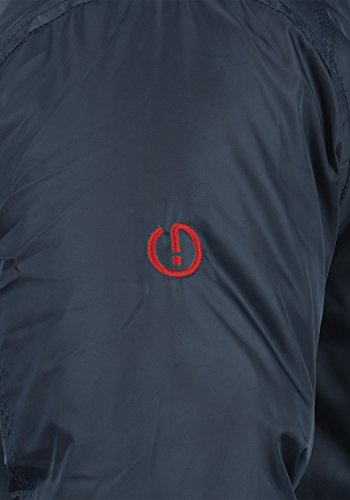 SOLID Bettino Herren Winterjacke Jacke mit Kapuze und Knopfleiste aus hochwertiger Materialqualität Insignia Blue (1991)