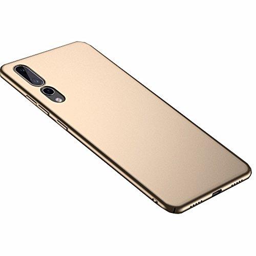 Huawei P20 Pro Hülle, Stilvoller Ultradünne Handyhülle. GOGME Hart Schutz Schutzhülle Für Huawei P20 Pro. Der Einfachste Und Effektivste Schutz Abdeckung Des Telefon. Gold Gold Telefon