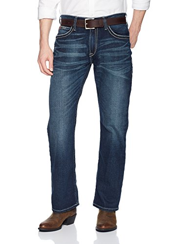 Ariat Men's M4 Low Rise Boot Cut Jean, Adkins Turnout, 44X36 -